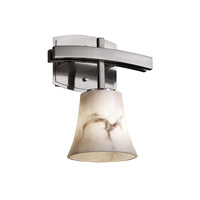 Justice Design LumenAria Archway 1-Light Wall Sconce in Brushed Nickel FAL-8591-20-NCKL