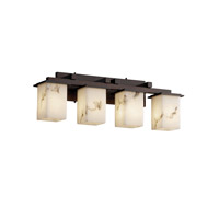 Justice Design LumenAria Montana 4-Light Bath Bar in Dark Bronze FAL-8674-15-DBRZ