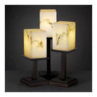 Justice Design LumenAria Montana 3-Light Table Lamp in Dark Bronze FAL-8697-15-DBRZ