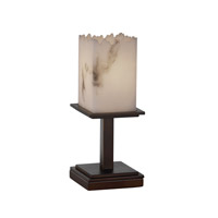 Justice Design LumenAria Montana 1-Light Table Lamp (Short) in Dark Bronze FAL-8698-17-DBRZ