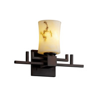 Justice Design LumenAria Aero 1-Light Wall Sconce in Dark Bronze FAL-8701-60-DBRZ