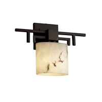 Justice Design FAL-8711-30-DBRZ LumenAria 1 Light 14 inch Dark Bronze ADA Wall Sconce Wall Light in Oval, Fluorescent photo thumbnail