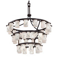 LumenAria LED 42 inch Dark Bronze Chandelier Ceiling Light