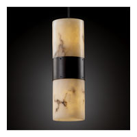 Justice Design LumenAria Dakota Large 2-Up & Downlight Pendant in Dark Bronze FAL-8759-10-DBRZ