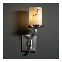 Justice Design LumenAria Sonoma 1-Light Wall Sconce (Short) in Brushed Nickel FAL-8781-10-NCKL