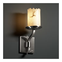 Justice Design LumenAria Sonoma 1-Light Wall Sconce (Short) in Brushed Nickel FAL-8781-12-NCKL