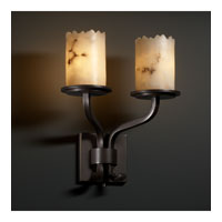 Justice Design LumenAria Sonoma 2-Light Wall Sconce (Short) in Dark Bronze FAL-8782-12-DBRZ