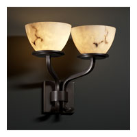 Justice Design LumenAria Sonoma 2-Light Wall Sconce (Short) in Dark Bronze FAL-8782-35-DBRZ