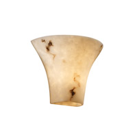 LumenAria 2 Light 12 inch Faux Alabaster Wall Sconce Wall Light