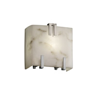 LumenAria 1 Light 6 inch Brushed Nickel ADA Wall Sconce Wall Light