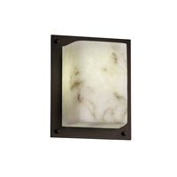 LumenAria 1 Light 7 inch Dark Bronze ADA Wall Sconce Wall Light