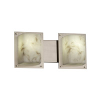 LumenAria 2 Light 17 inch Brushed Nickel Bath Light Wall Light