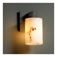 Justice Design LumenAria Modular 1-Light Wall Sconce in Matte Black FAL-8921-10-MBLK