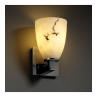 Justice Design LumenAria Modular 1-Light Wall Sconce in Black Nickel FAL-8921-18-BLKN