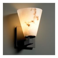 Justice Design LumenAria Modular 1-Light Wall Sconce in Matte Black FAL-8921-50-MBLK