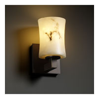 LumenAria 1 Light 5 inch Dark Bronze Wall Sconce Wall Light in Hourglass