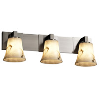 Justice Design LumenAria Modular 3-Light Bath Bar in Brushed Nickel FAL-8923-20-NCKL