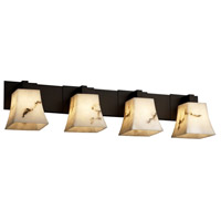 Justice Design LumenAria Modular 4-Light Bath Bar in Dark Bronze FAL-8924-40-DBRZ