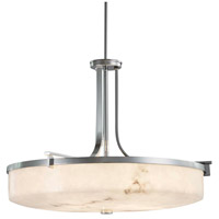 Justice Design FAL-8982-CROM Lumenaria 6 Light 27 inch Polished Chrome Pendant Ceiling Light in Incandescent