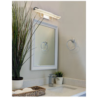 Justice Design FAL-9071-CROM LumenAria Elevate LED 20 inch Polished Chrome Vanity Light Wall Light
