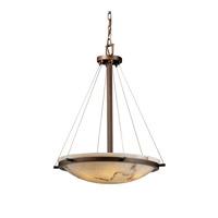 Justice Design FAL-9692-35-MBLK-LED5-5000 LumenAria LED 27 inch Matte Black Pendant Ceiling Light in 5000 Lm LED