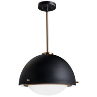 Justice Design Matte Black EVOLV Pendants