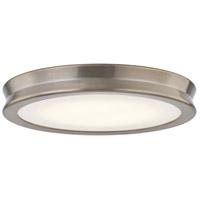 Justice Design FSN-4181-OPAL-BRSS Fusion LED 13 inch Brushed Brass Flush-Mount Ceiling Light Bevel Family
