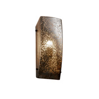 Justice Design Signature 1 Light Wall Sconce in Dark Bronze FSN-5135-MROR-DBRZ-LED-1000