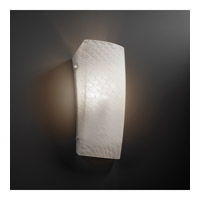 Justice Design FSN-5135-WEVE-NCKL Signature 1 Light 6 inch Brushed Nickel ADA Wall Sconce Wall Light in Weave, Incandescent FSN-5135-WEVE-NCKL_2.jpg thumb