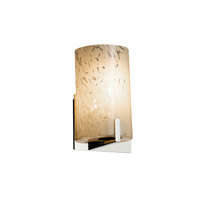 Justice Design Group Fusion LED Wall Sconce in Polished Chrome FSN-5531-DROP-CROM-LED1-700