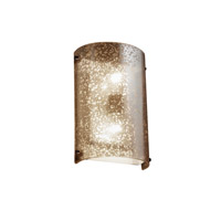 Justice Design Signature 2 Light Wall Sconce in Dark Bronze FSN-5541-MROR-DBRZ