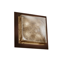 Justice Design Signature 4 Light Wall Sconce in Dark Bronze FSN-5567-MROR-DBRZ