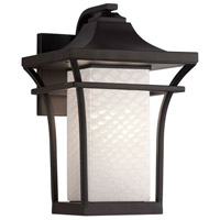 Fusion 1 Light 11 inch Matte Black Wall Sconce Wall Light