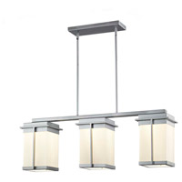 Justice Design FSN-7540W-OPAL-MBLK Fusion Pacific LED 8 inch Matte Black Outdoor Chandelier