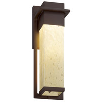 Justice Design FSN-7544W-SEED-DBRZ Fusion LED 5 inch Dark Bronze Wall Sconce Wall Light in Seeded