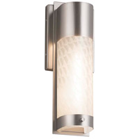 Justice Design FSN-7601W-WEVE-NCKL Fusion LED 5 inch Brushed Nickel ADA Wall Sconce Wall Light in Weave