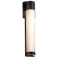 Fusion LED 5 inch Matte Black ADA Wall Sconce Wall Light