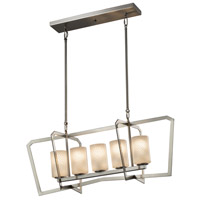 Fusion 5 Light 14 inch Chandelier Ceiling Light