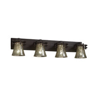 Justice Design Fusion 4 Light Bath Light in Dark Bronze FSN-8274-20-MROR-DBRZ