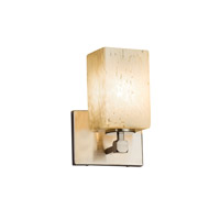 Justice Design Group Fusion LED Wall Sconce in Brushed Nickel FSN-8421-15-DROP-NCKL-LED1-700