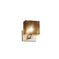 Justice Design Group Fusion LED Wall Sconce in Brushed Nickel FSN-8427-55-MROR-NCKL-LED1-700