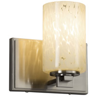 Justice Design FSN-8441-10-DROP-NCKL Fusion 1 Light 7 inch Wall Sconce Wall Light