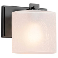 Fusion LED 7 inch Matte Black ADA Wall Sconce Wall Light