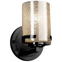 Matte Black Glass Wall Sconces