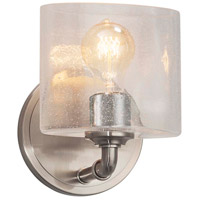 Justice Design FSN-8467-55-RBON-CROM Fusion 1 Light 6 inch Polished Chrome ADA Wall Sconce Wall Light in Ribbon, Rectangle, Incandescent