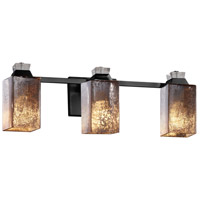Flat Black Glass Bathroom Vanity Lights