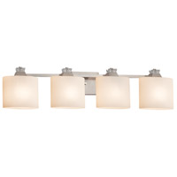 Fusion Ardent 4 Light 35 inch Brushed Nickel Bath Bar Wall Light