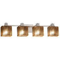 Fusion Ardent 4 Light 34 inch Brushed Nickel Bath Bar Wall Light