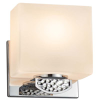 Justice Design FSN-8497-55-OPAL-CROM-LED1-700 Fusion Malleo LED 6 inch Polished Chrome ADA Wall Sconce Wall Light