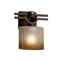 Argyle 1 Light 9 inch Dark Bronze ADA Wall Sconce Wall Light in Oval, Caramel, Fluorescent
